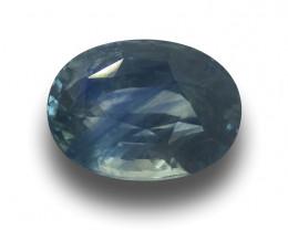 Natural Greenish Blue Sapphire|Loose Gemstone|New| Sri Lanka