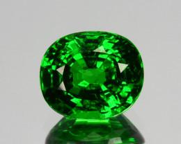 1.04Ct Natural Tsavorite Green Pear Oval