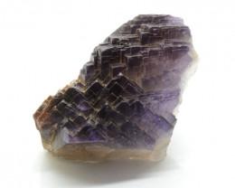 1470 CT Purple Fluorite Specimen@ Pakistan