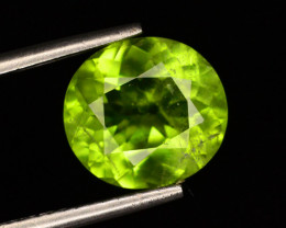 3.60 ct  Ct Natural Apple Green Color Peridot ~ G