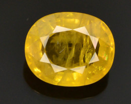 CIGTL CERTIFIED  2.05 ct Rarest Yellow Sapphire~Sri Lanka ~ T