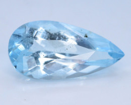 AAA Clarity & Cut 4.15 ct Attractive Color Aquamarine ~ G