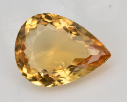 3.30 Ct Natural Heliodor AAA Grade Yellow Color