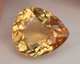 3.0  Ct Natural Heliodor AAA Grade Yellow Color