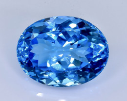 24.89 Crt Topaz Faceted Gemstone (Rk-69)