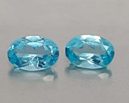 0.85CT NEON BLUE APATITE BEST QUALITY GEMSTONE IIGC60