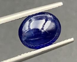 2.88 Carats Sapphire Cabochon