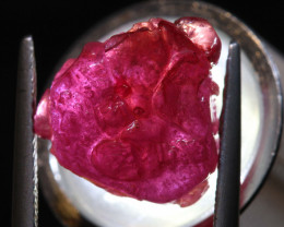 12.45 CTS   AFRICAN  RUBY ROUGH   RG-5420