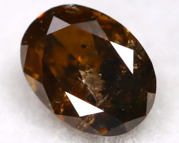 0.21Ct Natural Untreated Fancy Cognac Diamond BM0403