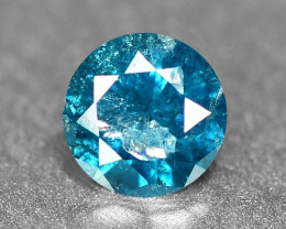 0.13 Cts Sparkling Rare Fancy Blue Color Natural Loose Diamond
