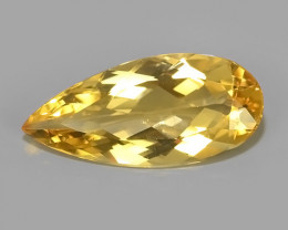 Private Auction 4.00 CTS AMAZING NATURAL RARE GOLDEN YELLOW BERYL GEM~~