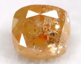 0.31Ct Natural Untreated Fancy Yellowish Orange Diamond BM0405