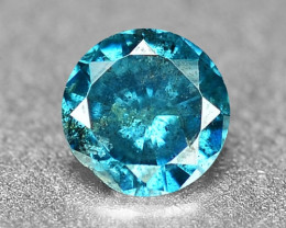 0.08 Cts Sparkling Rare Fancy  Blue Color Natural Loose Diamond