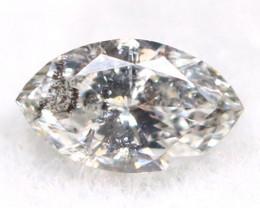 Salt And Pepper Diamond 0.07Ct Untreated Genuine Fancy Diamond B2607