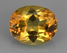 EXCELLENT~6.25 CTS CHAMPION TOPAZ OVAL WONDERFUL COLOR RARE STONE!