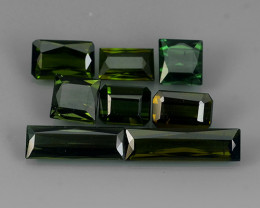5.30 CTS-ALLURING TOP GREEN PARTY COLOR GREEN TOURMALINE OCTAGON CUT!!