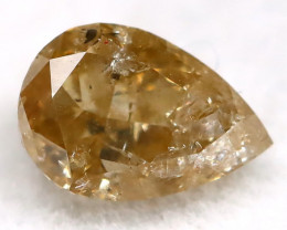 0.27Ct Natural Untreated Fancy Champagne Diamond BM0411