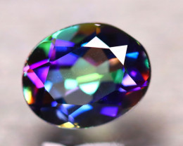 Mystic Topaz 2.52Ct Natural IF Mystic Rainbow Topaz D2904/A46