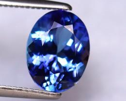 Tanzanite 2.04Ct Natural VVS Purplish Blue Tanzanite DR292/D8