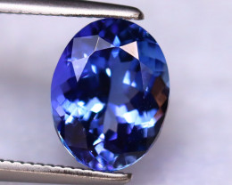 Tanzanite 2.22Ct Natural VVS Purplish Blue Tanzanite DR294/D8
