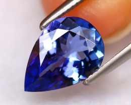 Tanzanite 1.77Ct Natural VVS Purplish Blue Tanzanite DR297/D8