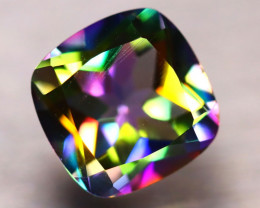 Mystic Topaz 5.28Ct Natural IF Mystic Rainbow Topaz DF2910/A46