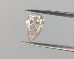 0.19 CTS , Salt And pepper Diamond , White Natural Diamond