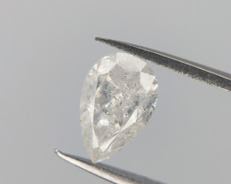 0.26 CTS , Salt And Pepper Diamond , White Diamond , Natural Diamond