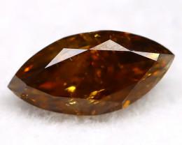 0.26Ct Natural Untreated Fancy Cognac Diamond BM0415