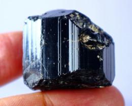 181.10 CT Natural - Unheated Black Tourmaline Crystal