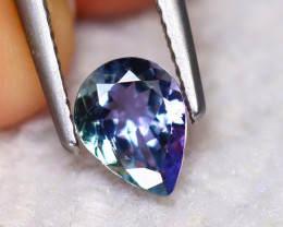 Tanzanite 1.15Ct Natural VVS Purplish Blue Tanzanite ER137/D3