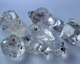 60.70 CT Natural - Unheated White Herkimer Quartz Crystal Lot