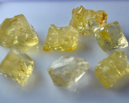 54.25 CT Natural - Unheated Yellow Opal Rough Lot