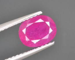 Natural Ruby 1.78 Cts Top Quality from Afghanistan