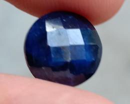 SAPPHIRE BLUE FACETED GEMSTONE GENUINE VA2185