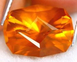 Madeira Citrine 4.55Ct VVS Master Cut Natural Orange Citrine A2712