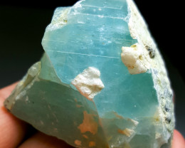 Lovely and Beautiful Rough Aquamarine piece good for cabs 780Cts-P
