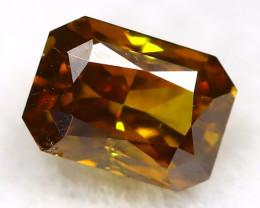 0.18Ct Champagne Orange Diamond Natural Untreated Fancy Diamond AT04100