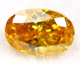 Orange Diamond 0.23Ct Untreated Genuine Fancy Diamond B2703