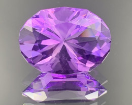 10.07 CT Amethyst  Gemstones Top luster
