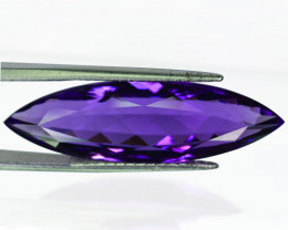 25.78Ct Natural Purple Amethyst Marquise