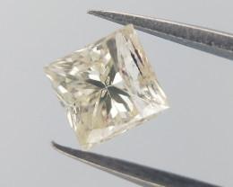 0.33 CTS , Loose Natural Diamond , Princess BRILLIANT Cut