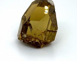 Yellow Tourmaline Crystal 34.50ct