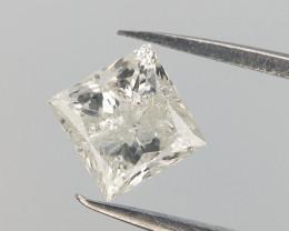 0.27 CT , Natural White Diamond , Flawed Diamond