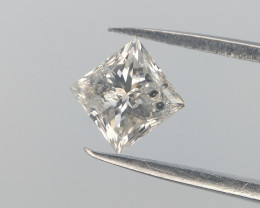 0.24 cts , Salt and Pepper diamond , Natural White Brilliant
