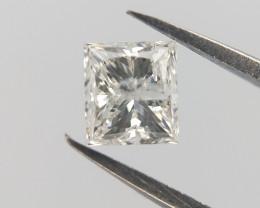 0.24 CTS , White Natural Diamond , Loose Princess Diamond