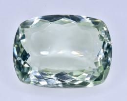 10.03 Crt Natural Green Prasiolite Amethyst Faceted Gemstone.( AB 94)