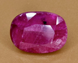 2.99 Crt Natural Ruby  Faceted Gemstone.( AB 94)