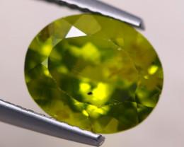 3.31Ct Natural Green Peridot Oval Cut Lot LZ6742