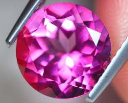 3.38ct Natural Pink Topaz Round Cut Lot Z508